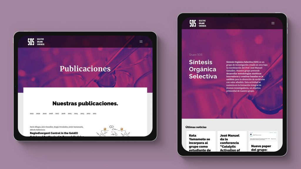 diseño web para congresos