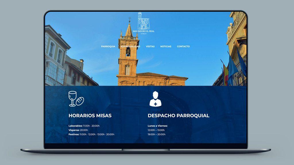 diseño web para centros religiosos
